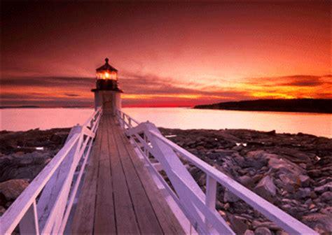 marshall point lighthouse maine  postcard greeting