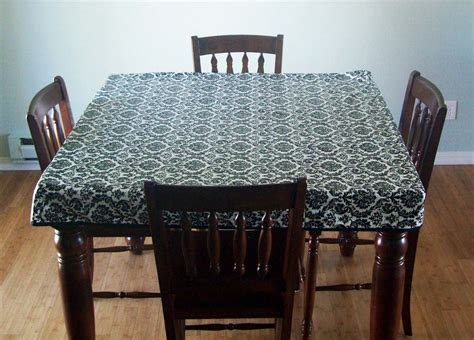 how to make a tablecloth for a rectangular table running with scissors fitted simple tablecloth