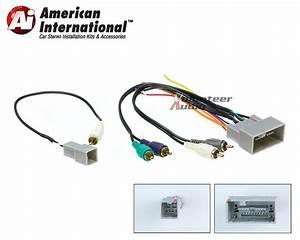 Honda Premium Car Stereo Cd Player Wiring Harness Wire
