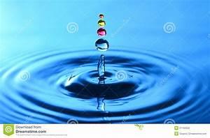 A Water Drop Splash Stock Photography - Image: 31160032