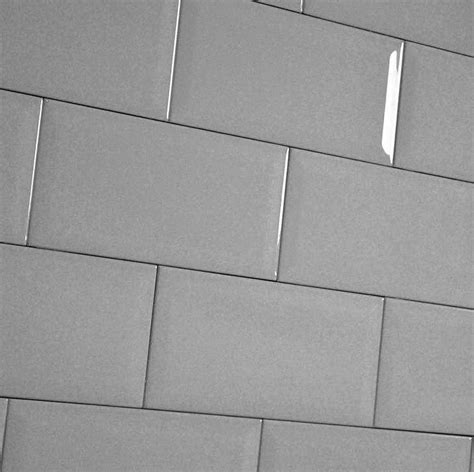light grey subway tiles