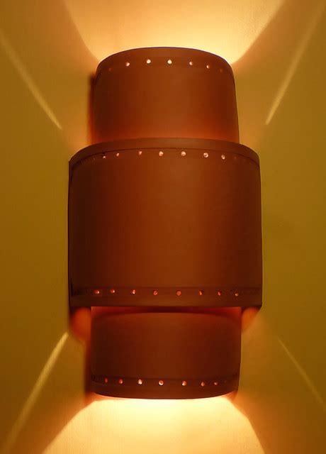 Ceramic Wall Sconces - handmade ceramic sconces and pendant lighting
