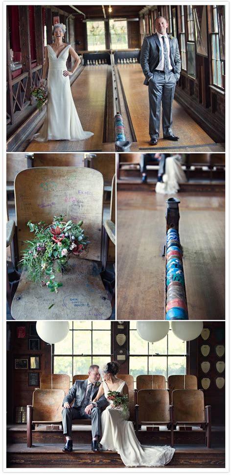 charming bowling wedding nichole tim real weddings
