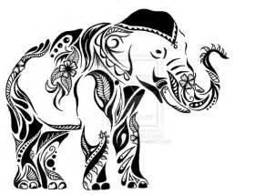 Indian Tribal Elephant Drawings