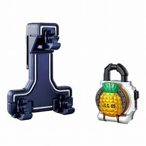 Kamen Rider Gaim DX Lock Seed Holder w/ Pineapple Lock ...