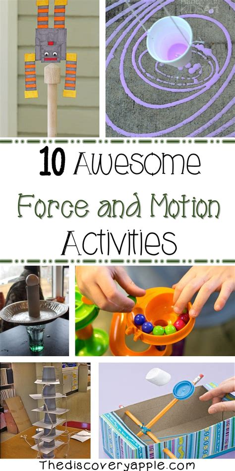 10 awesome and motion activities lots of great 372 | facd6bb03a7399e6cf29d7e0746d091a