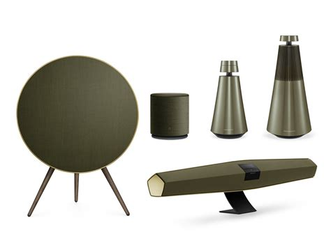 interior design for home olufsen goes green with the harmonies collection