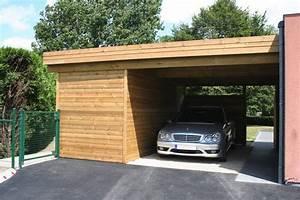 Carport Avec Abri : carports moderne adoss avec abri veranclassic ~ Melissatoandfro.com Idées de Décoration