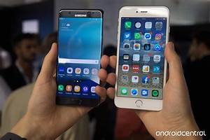 Samsung Galaxy Note 7 vs. iPhone 6s Plus: First ...