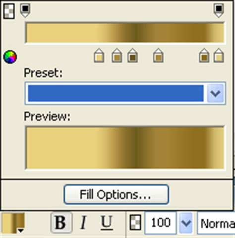 gold color code in ms paint metallic gold