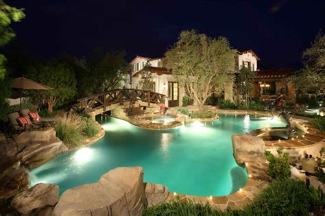 Backyard Lazy River.