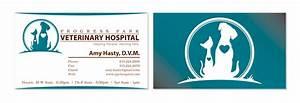 Veterinary business cards progress park veterinary hospital for Veterinarian business cards