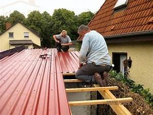 Gartenhaus Dach Blech : trapezblech montage foto helpful hint in 2019 trapezblech trapezblech dach und blech ~ Watch28wear.com Haus und Dekorationen