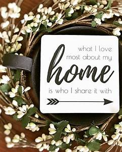 what i most about my home is who i it with