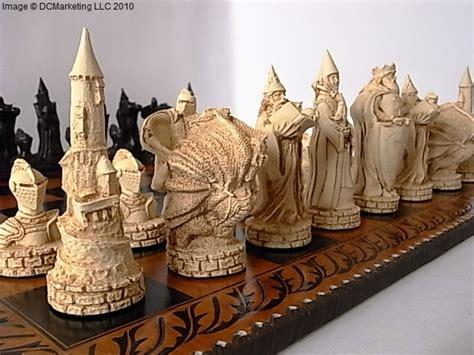 King Arthur Plain Theme Chess Set Amazing And