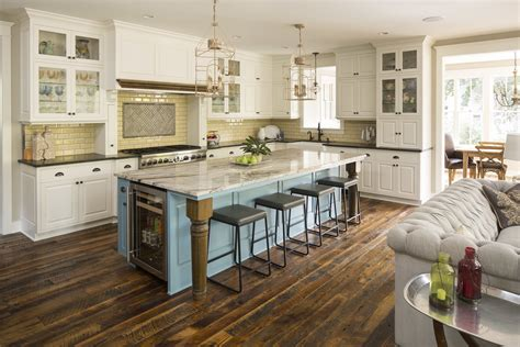 kitchen island cabinets excelsior maple d williams custom homes 1855