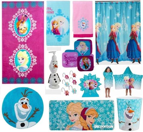 Disney Frozen Bathroom Sets by 28pc Complete Frozen Elsa Bathroom Set Shower Curtain