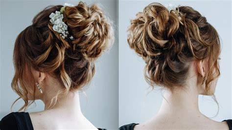 elegant  beautiful bridal hairstyles  long hair