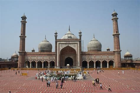 jama masjid delhi history architecture facts visit