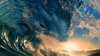4k Ocean Wave Water Wallpapers Waves Sea