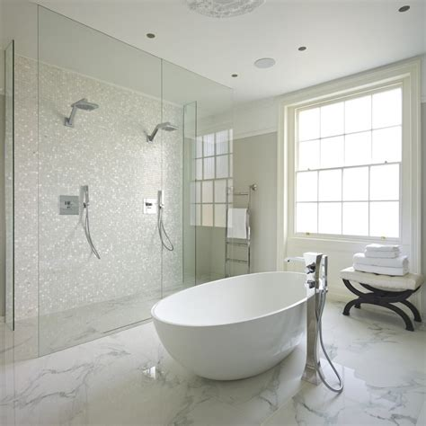 Marble Floors Bathroom when and where can marble floors become an design