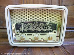 Poste Radio Vintage : poste de radio ancien vintage tsf marque le r gional ann es 50 ~ Teatrodelosmanantiales.com Idées de Décoration