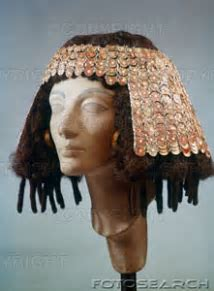 Mummies and mummy hair from ancient Egypt.   Mathilda's