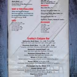 Deck Daytona Fl Menu by Crabby Joe S Deck Grill 234 Photos Seafood Daytona