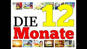 Months Of The Year   Die 12 Monate