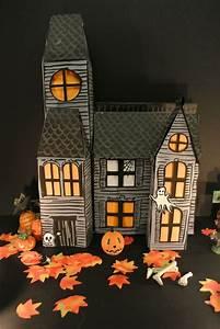 Decoration Halloween Maison : tuto fabriquer une maison hant e pour halloween loisirs cr atifs ~ Voncanada.com Idées de Décoration