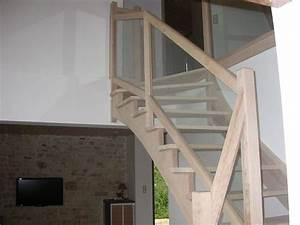 Escalier Quart Tournant Gauche : les 25 meilleures id es concernant escalier quart tournant ~ Dailycaller-alerts.com Idées de Décoration