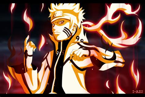 Naruto Bijuu Mode By I-azu On Deviantart