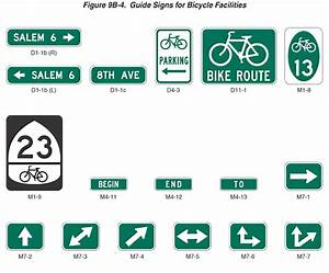 Figure 9B-4. Guide Signs for Bicycle Facilities