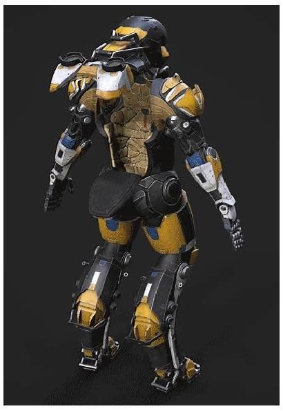 Armor Concept Anthem Javelin Ranger Robot Artstation