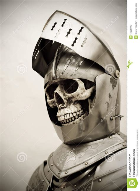 skeleton knight royalty  stock photo image