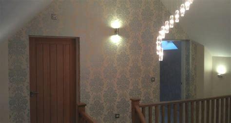 wallpaper ideas  stairs  landing gallery