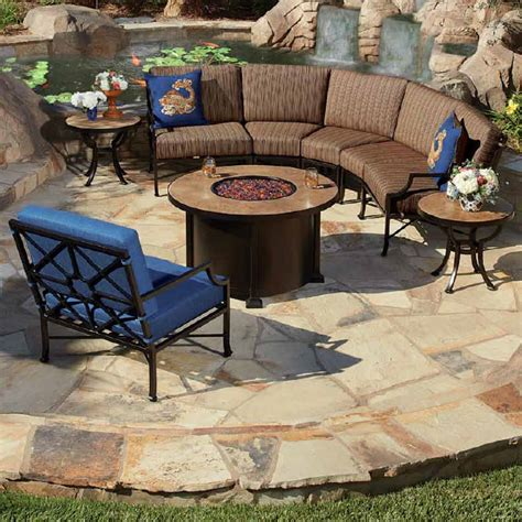 ow hyde park curved sectional pit set ow