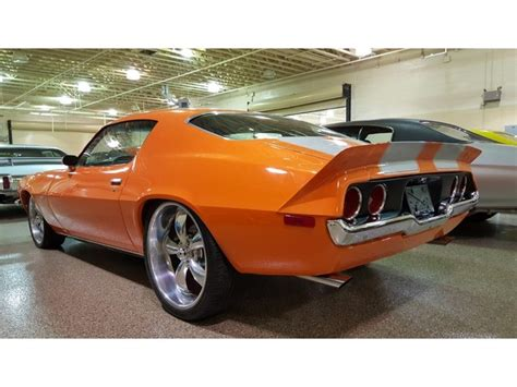 1972 Chevrolet Camaro Orange Crush 72 Camaro Ebay