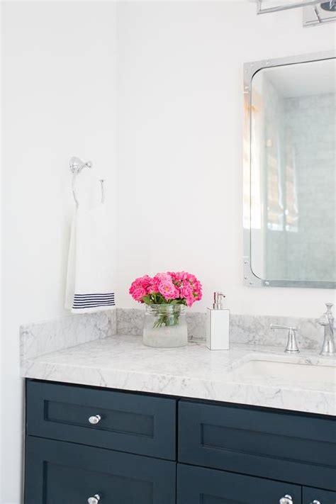 blue bathroom vanity cabinet navy bathroom vanity with industrial rivet medicine
