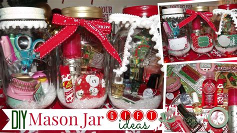 diy mason jar gift ideas affordable  easy youtube