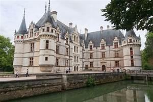 Azay Le Rideau Castle 1518 1527 France Architecture