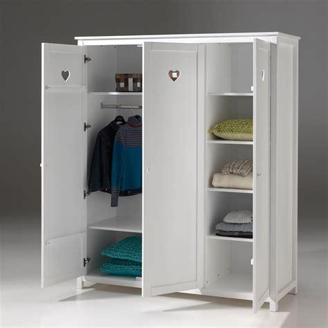 armoire de rangement cuisine armoire de chambre finition laqué blanc h190cm 3