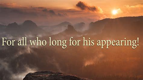 long  jesus coming powerpoint