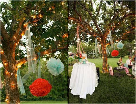 bright  colorful backyard wedding rustic wedding chic