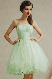 Robe Pour Temoin De Mariage : robe cintr e de couleur vert pastel pour t moin de mariage ~ Melissatoandfro.com Idées de Décoration