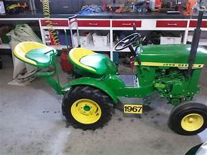 My 1967 John Deere Model 112 Garden Tractor With Hh100