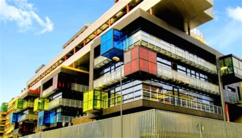 The Rubik's Cube In Architecture