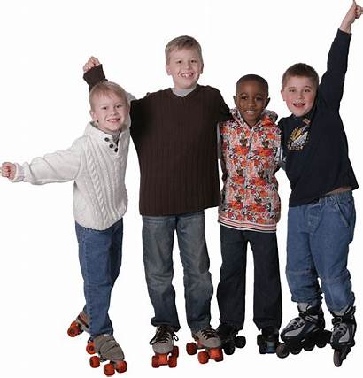 Playland Roller Skate Boys Four Skating Skates