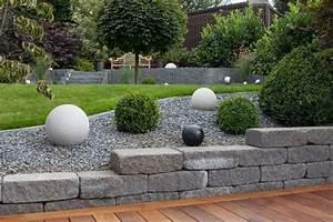 Gartenwege Aus Kies : gartengestaltungsideen steingarten anlegen mit passender bepflanzung gartenwege aus kies ~ Sanjose-hotels-ca.com Haus und Dekorationen
