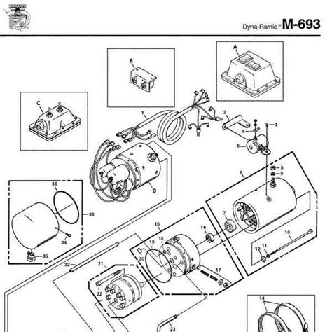 Monarch Wiring Diagram by Monarch Hydraulics M 693 Parts Diagram From Dynamics